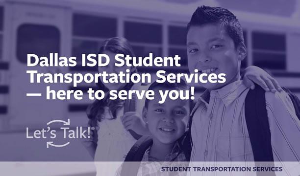 Dallas ISD Student Transportaton