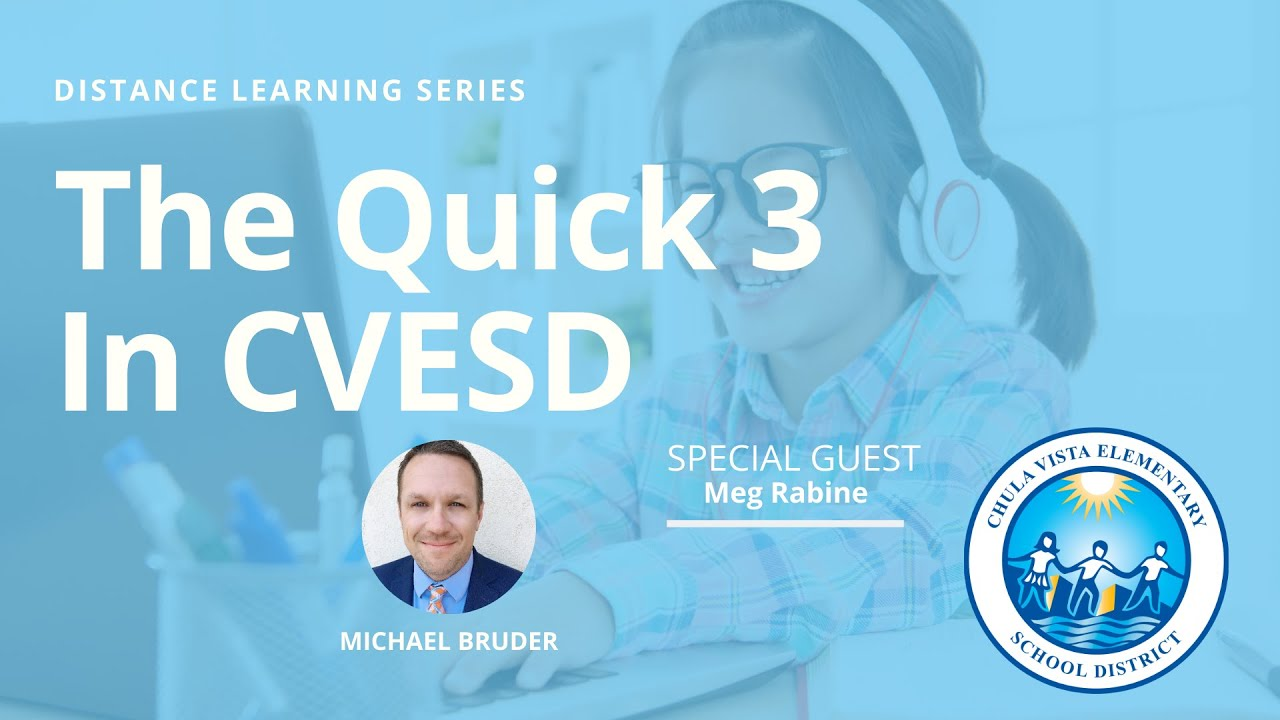 The Quick 3 In CVESD with Meg Rabine
