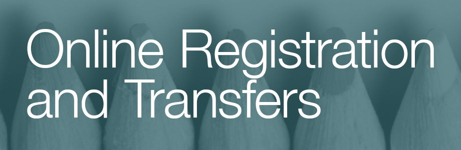 Online Registration and Transfers