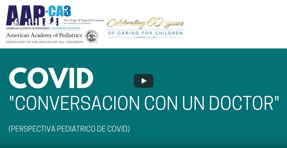 Perspectivas de pediatras en San Diego acerca del COVID-19 y el regreso a la escuela